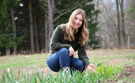 Anne Marie Matthews says her vegetable garden motivated her to embrace a zero-waste lifestyle.