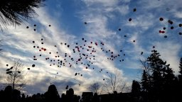 Continue reading: Hundreds of balloons released into the air in Leduc to honour life of slain Alberta teen