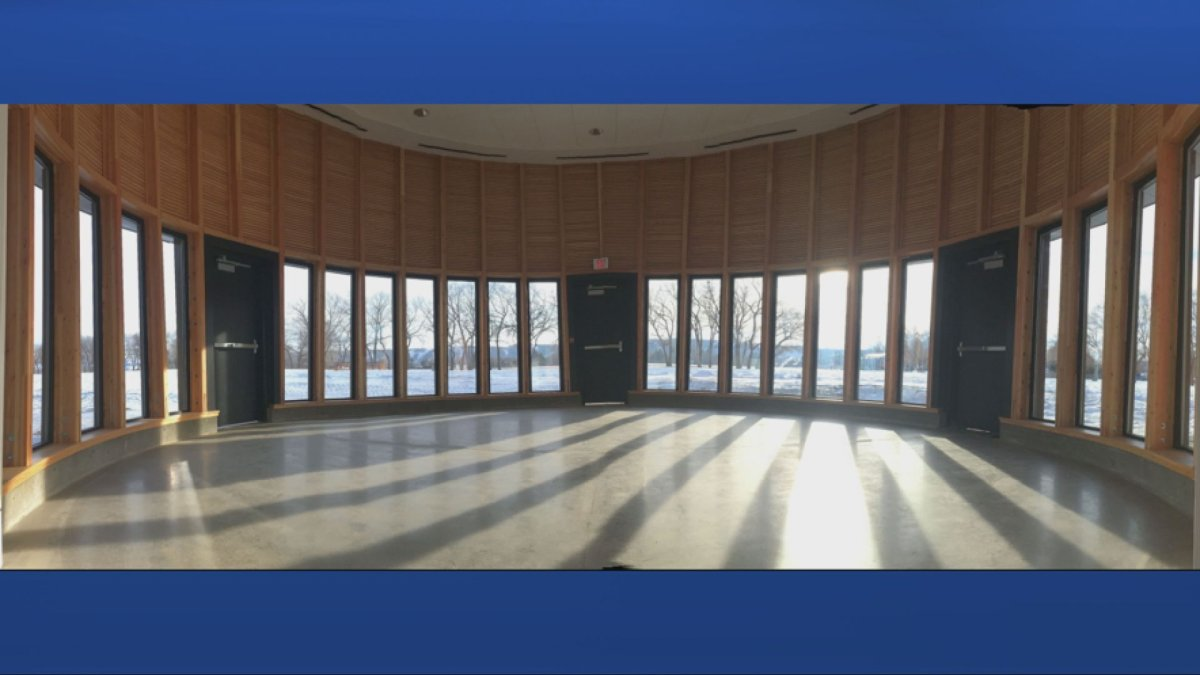 A ceremonial room at Bert Fox Community High School will be available for students, staff and community members to utilize for land-based education and ceremony.