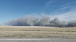 Continue reading: 15,000 acres burned in Blood Tribe wildfire Sunday, caused by sweat lodge session