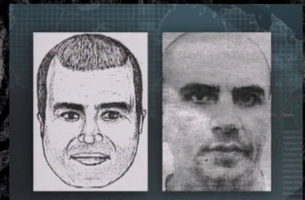 A police sketch used in the case of the so-called Beltline Rapist .