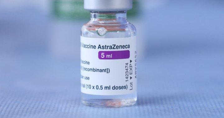 Alberta to lower minimum age for AstraZeneca COVID-19 vaccine from 55... image