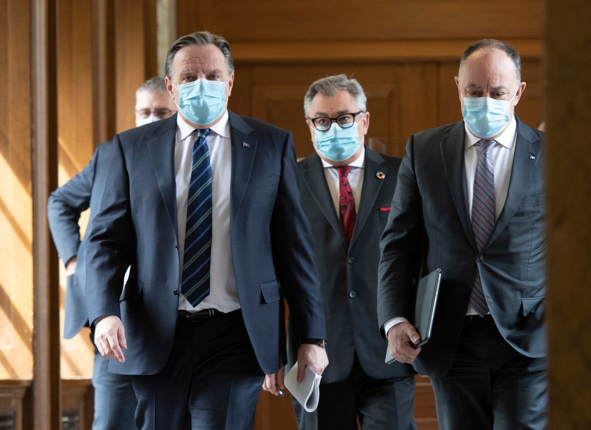 This comes as officials announced that Premier François Legault will hold a press conference at 5 p.m. on Tuesday announcing new COVID-19 health measures.