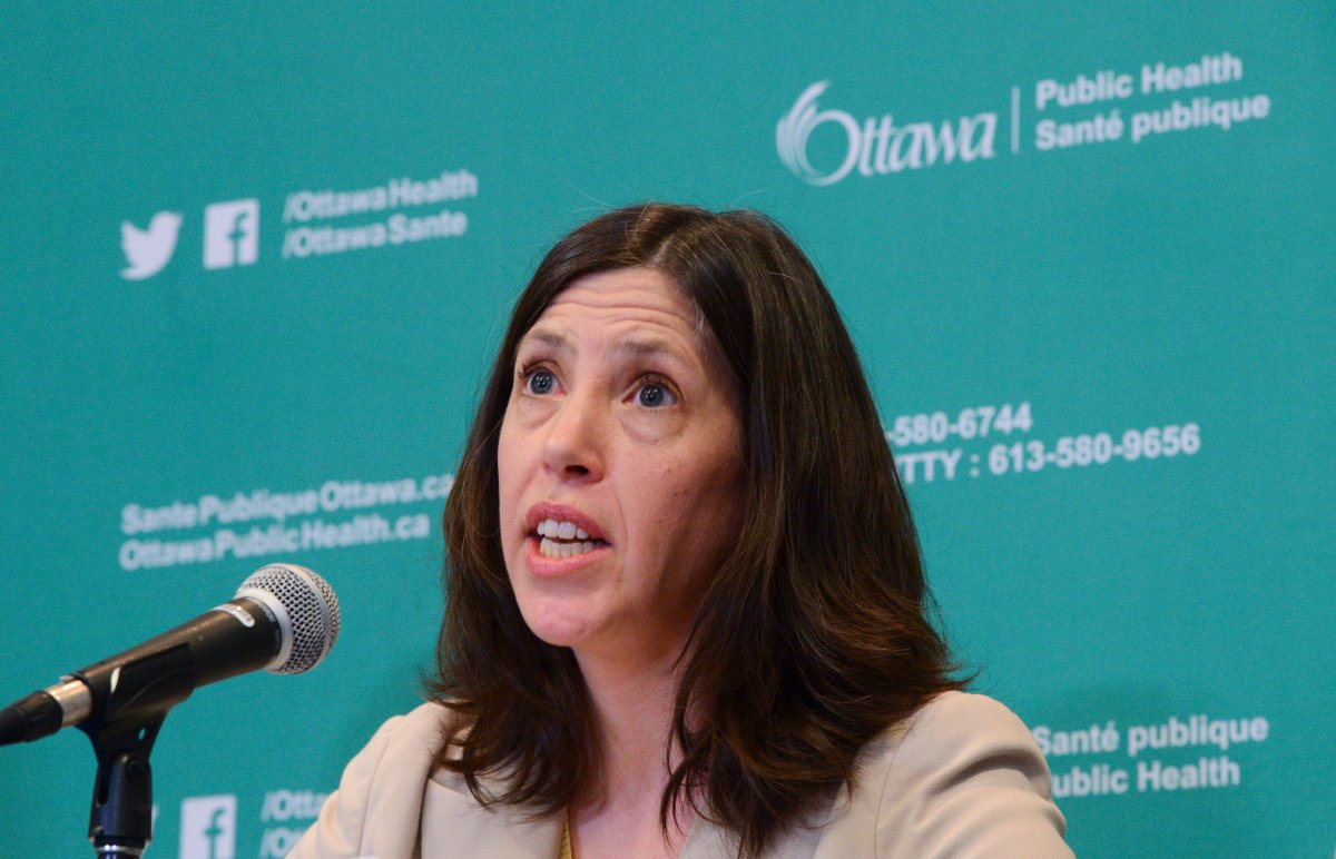 Dr. Vera Etches said Tuesday that Ottawa's COVID-19 metrics place it in the red zone of Ontario's reopening framework and residents and businesses should expect a formal move to tighter restrictions within the week.