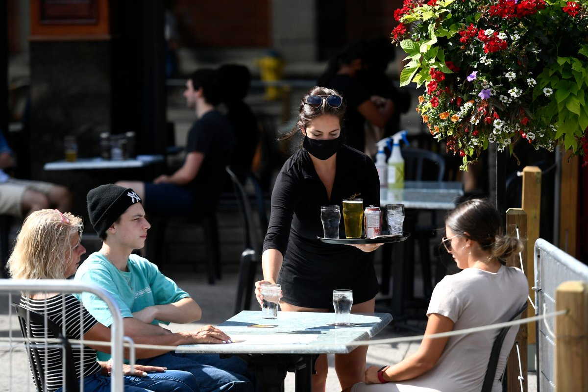 Patios in Ottawa could be open until 2 a.m. if the city moves to the green zone under Ontario's COVID-19 reopening framework this summer.