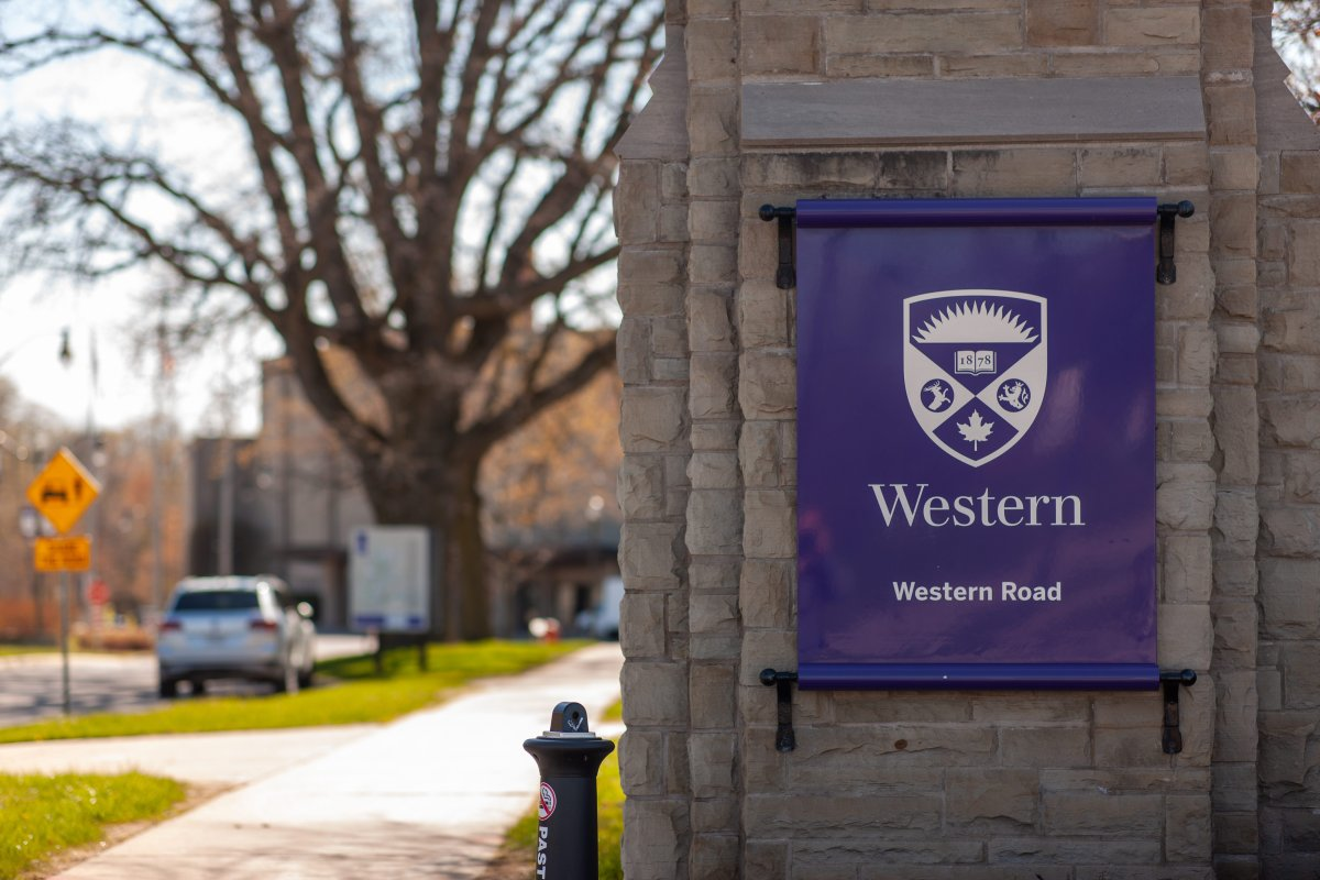 FILE - Western University in London, Ont, on May 13, 2020.