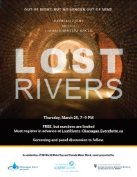 """Continue reading: """"Lost Rivers"""" – Online Film Screening, Panel Discussion"""