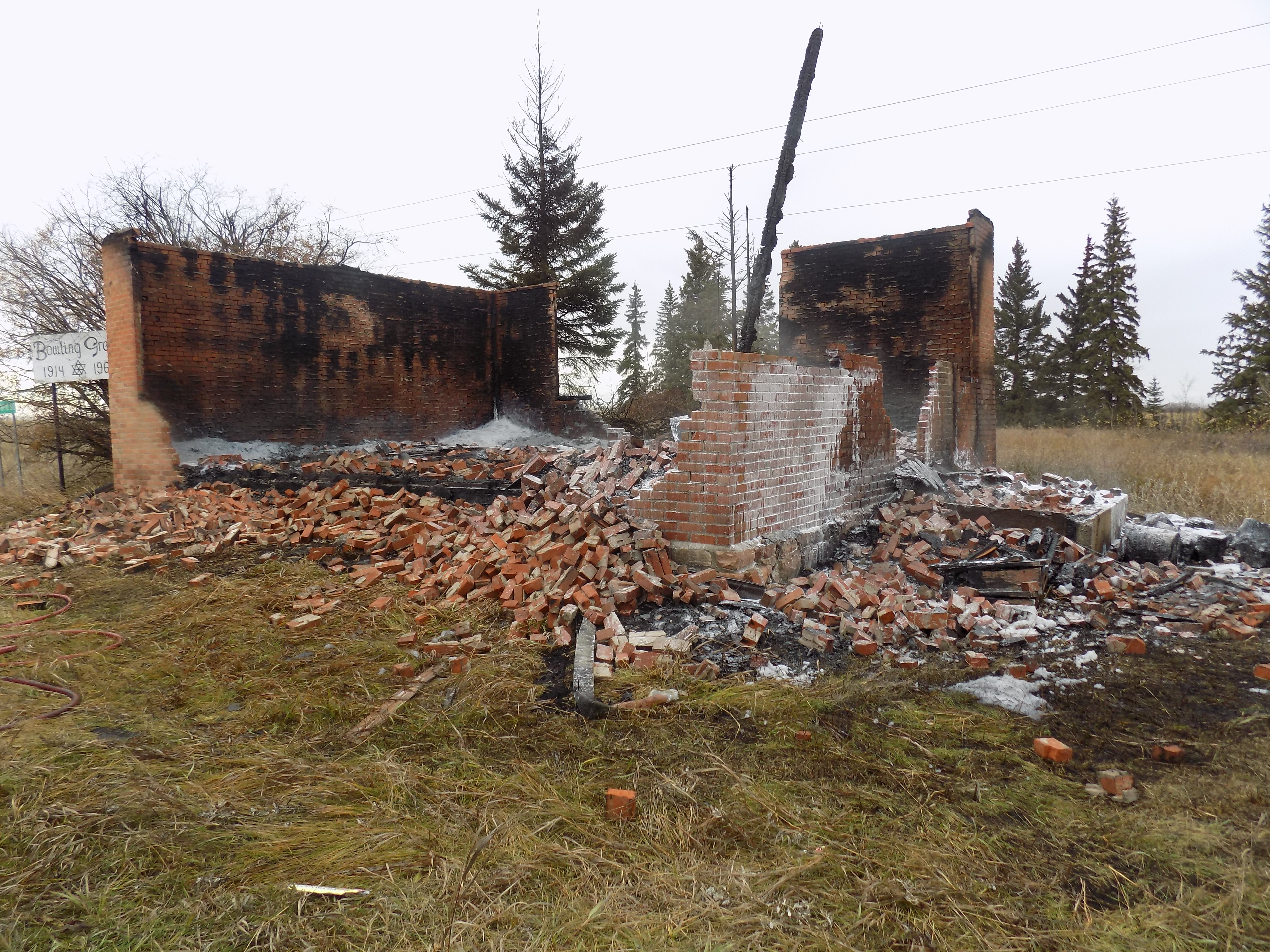 Alberta RCMP charge teen in 2019 arson that destroyed historic school
