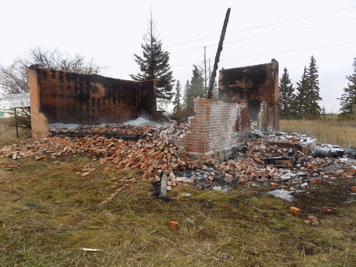 Mounties have charged a teen with arson in relation to a blaze that destroyed the Bowling Green School in Minburn, Alta., in 2019.