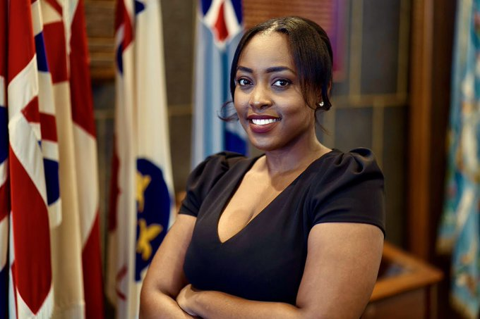London Ward 13 Coun. and Liberal candidate for London West Arielle Kayabaga.