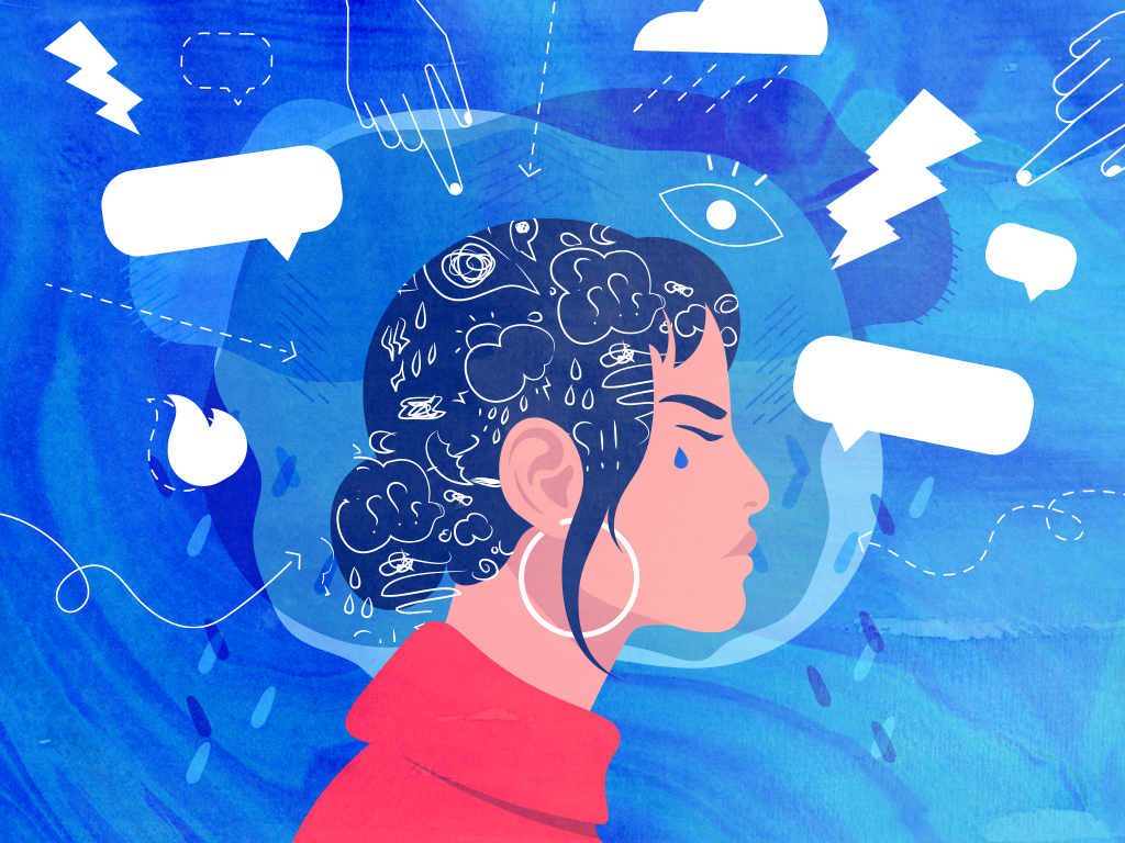 According to a report by the Chinese Canadian National Council Toronto chapter, the younger cohort was found to be the most emotionally and mentally impacted with those under the age of 18 at 83 per cent and those ages 19 to 35 at 79 per cent. | Illustration: Laura Whelan.