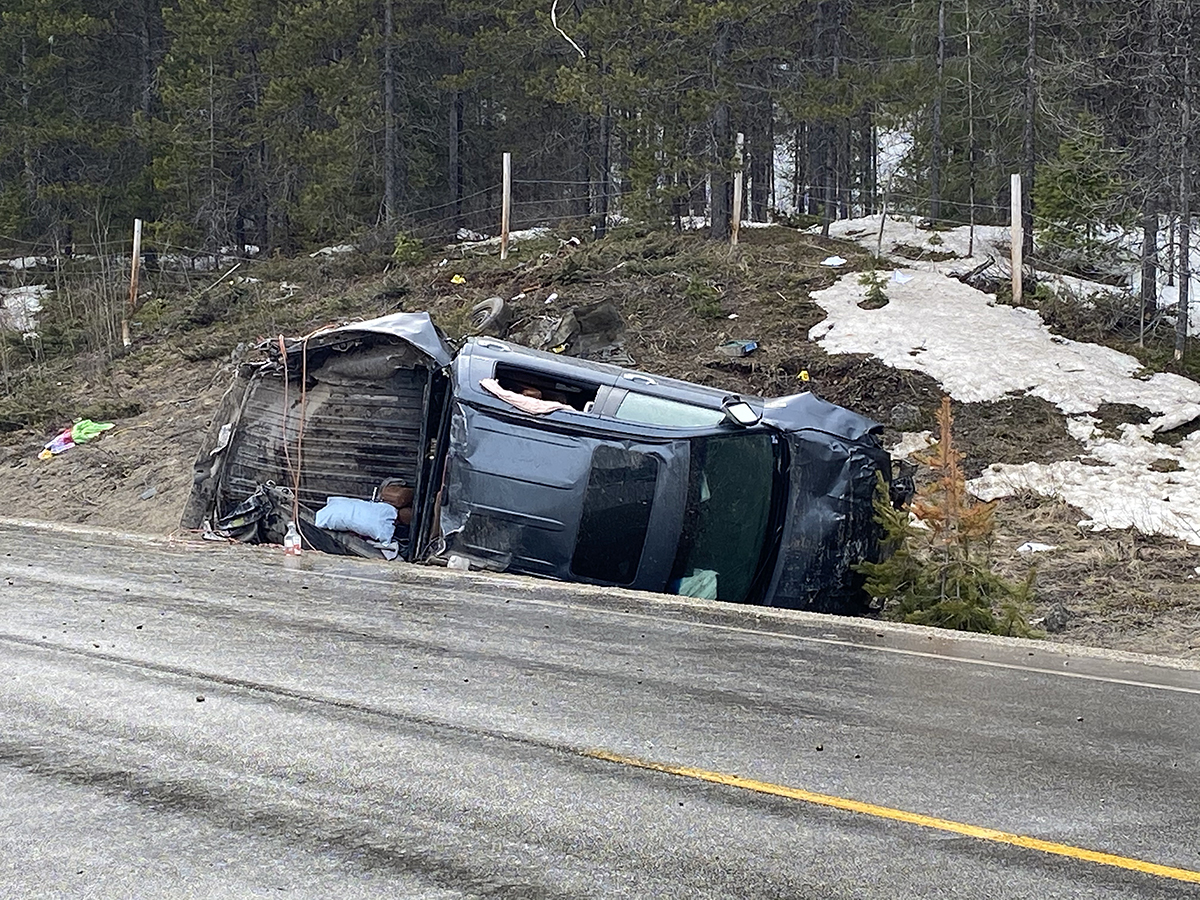 Police closed a section of Highway 33 on Wednesday afternoon, stating they were conducting an investigation. The highway appears to be closed in part because of a rolled over truck.