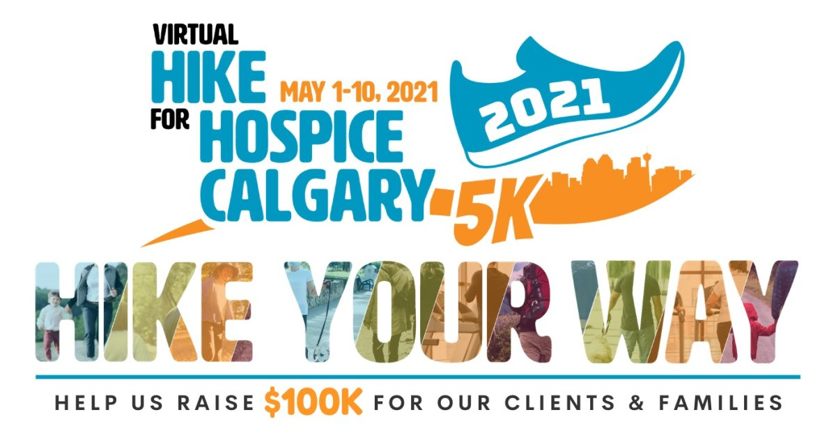 Hike for Hospice Calgary, supported by Global Calgary & 770 CHQR - image