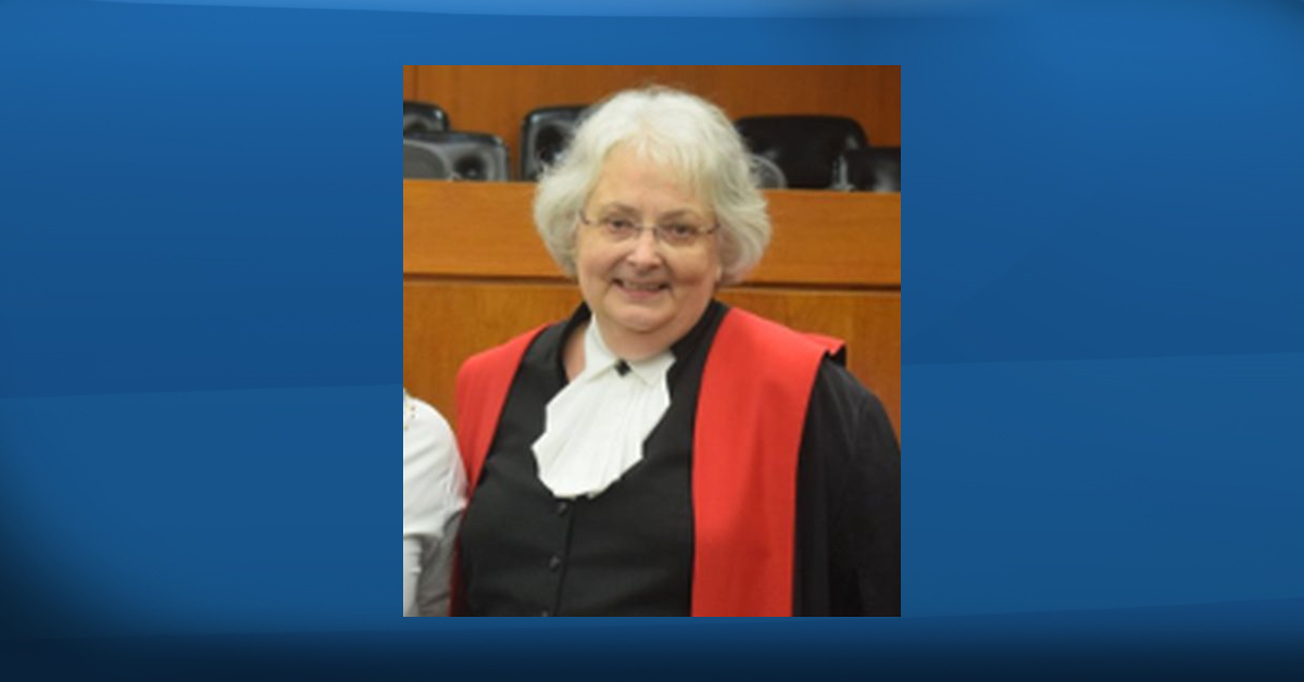 Beverley Browne has died in Edmonton. She served on the Court of Queen's Bench and helped create Alberta's Gladue and restorative justice committees. She continued to serve as a deputy judge in Nunavut up until her retirement.