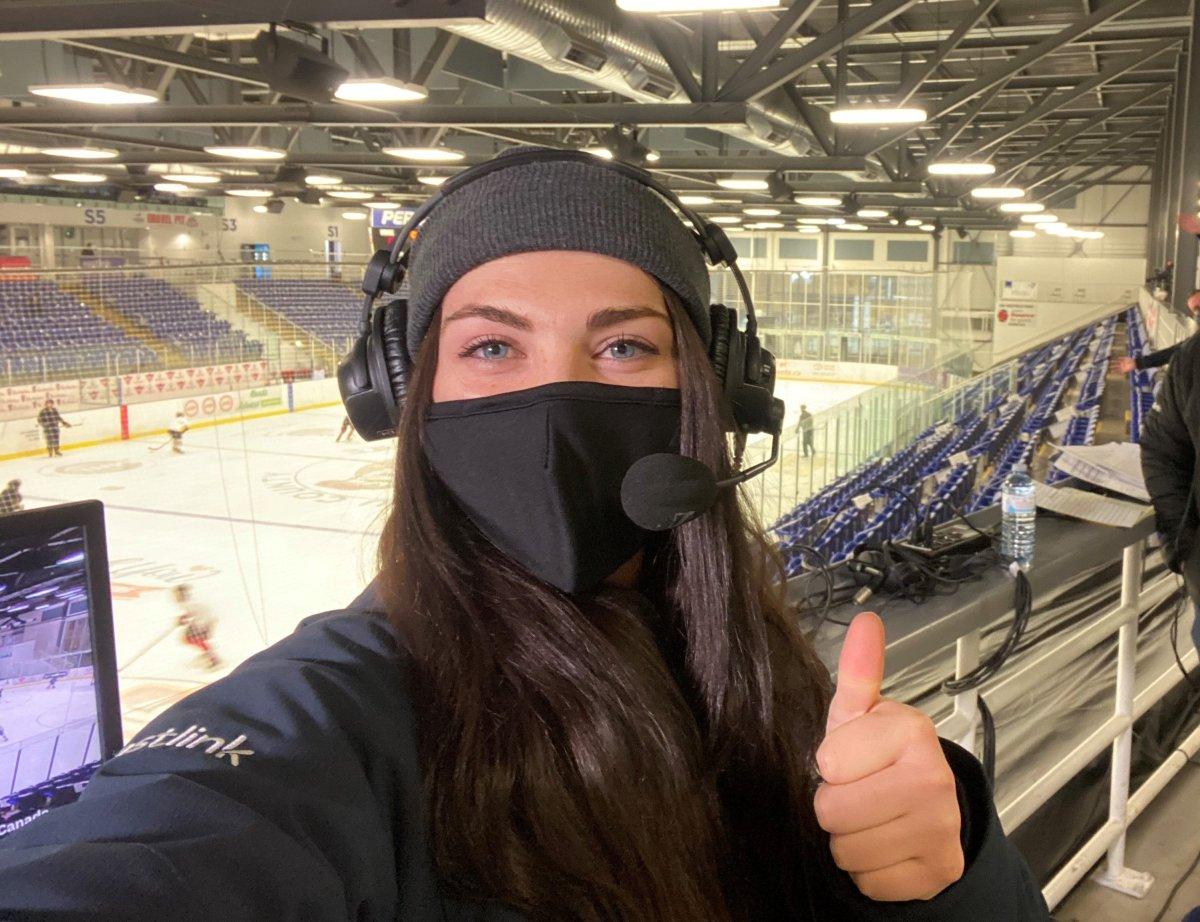 Meet Kenzie Lalonde. She's about to break a glass ceiling for the QMJHL - image