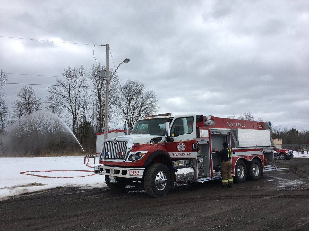 Loyalist firefighters were called to two separate blazes before noon Wednesday.