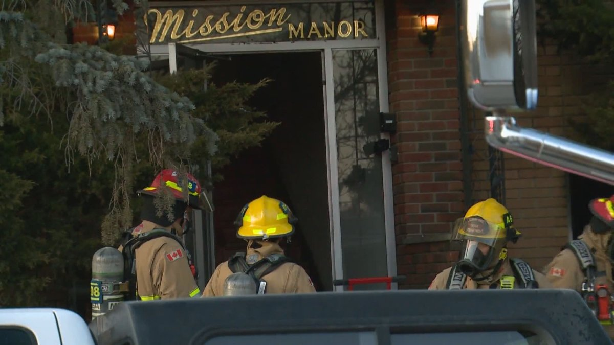 Calgary crews responded to a fire in Mission on Tuesday, March 30, 2021.