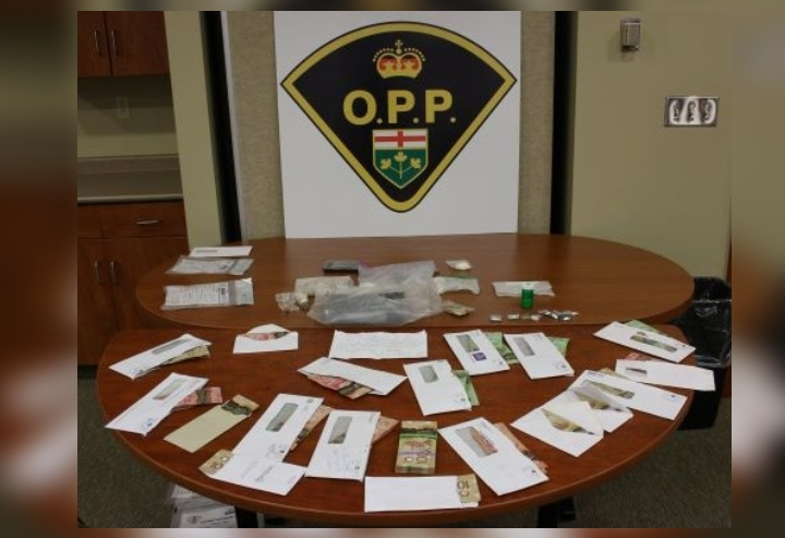 OPP say over $145,000 in drugs have been seized at an address in Puslinch, Ont.