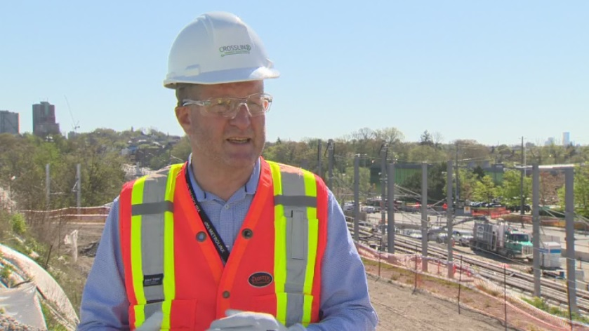 Phil Verster is seen in a 2020 interview with Global News.