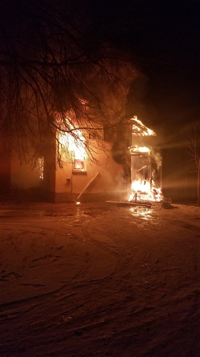 RCMP say no one was injured in a house fire on 3rd Street NW in Portage la Prairie early Tuesday.