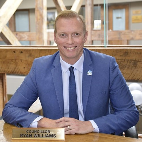 Belleville city councillor Ryan Williams announced his resignation from council as he hopes to win Bay of Quinte for Conservative party if a federal election is called.