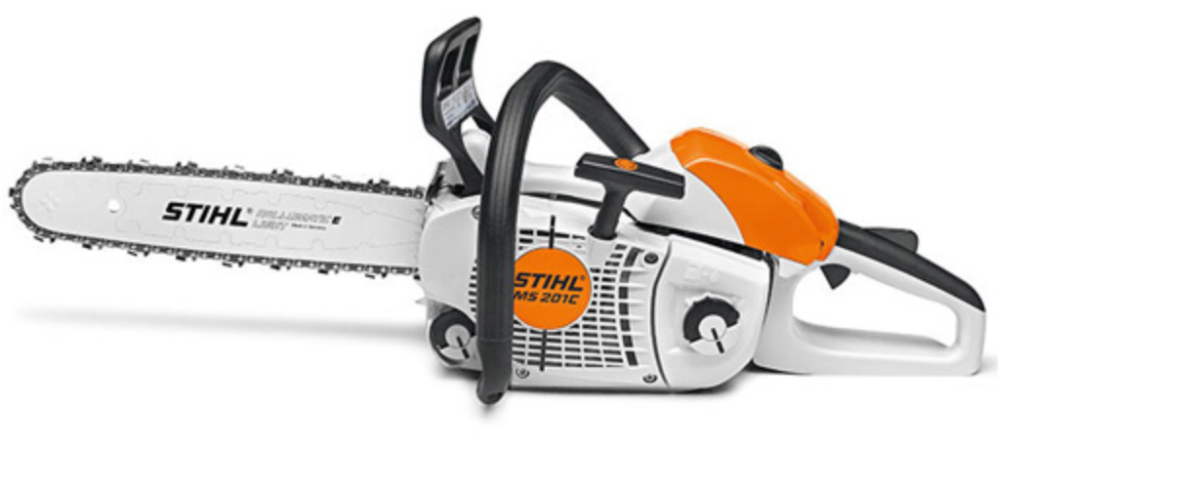 Northumberland OPP are investigating the theft of dozens of chainsaws and leaf blowers from a business in Hamilton Township.
