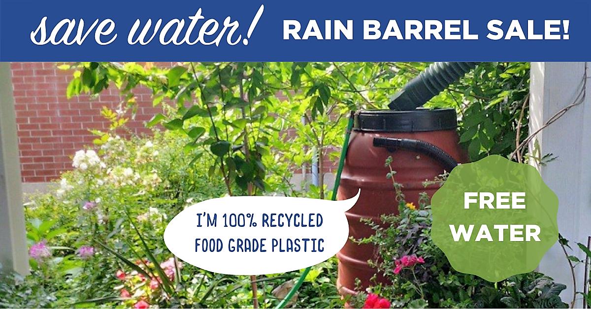 Sheet Seven Community Garden Rain Barrel Fundraiser - image