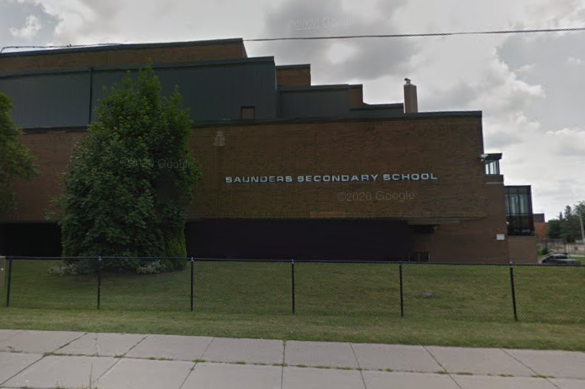 Saunders Secondary School in London, Ont.