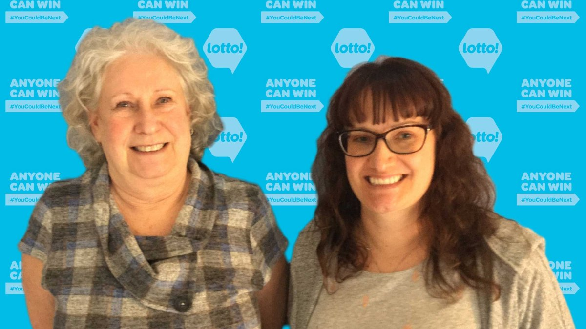 Theresa Worthington and her daughter, Alexa, recently won $500,000 after buying a lottery ticket in Kelowna.