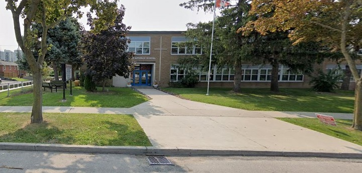 St. Francis Xavier Catholic School is temporarily closed down due to COVID-19.