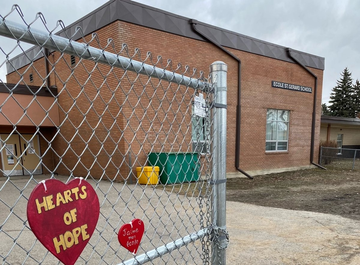 St. Gerard School is one of two Catholic schools in Calgary slated for closure.