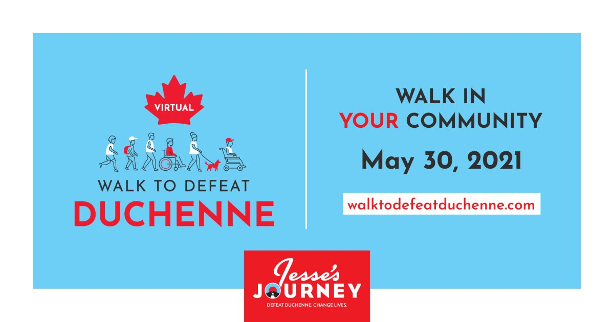 Join the Virtual Walk to Defeat Duchenne - image