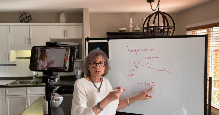 Retired teacher shares wealth of math knowledge in helpful YouTube videos