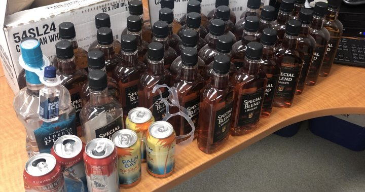 Alcohol from bootleggers intercepted in northern Saskatchewan: RCMP