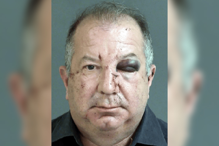 Pano Michael DuPree, 58, is shown in this mugshot photo from Mar. 20, 2021.