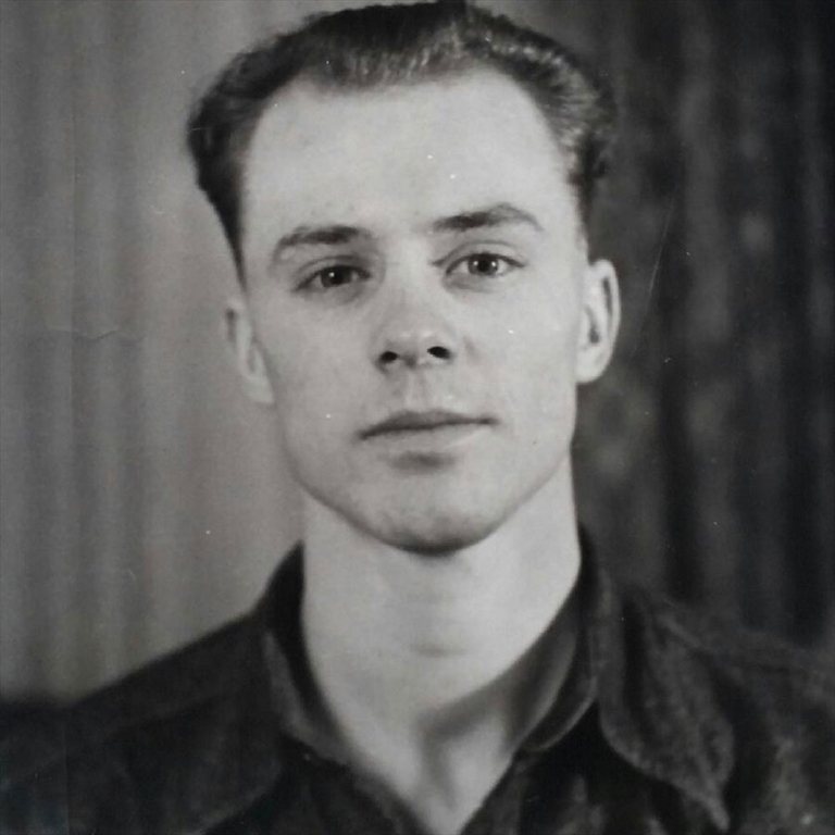Clarence Hollingworth in his younger days.