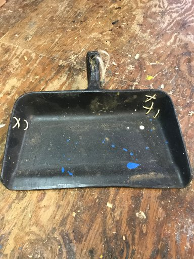Meg Savory prides herself on using a lesser-known R: repair, giving an old dustpan an extended life.