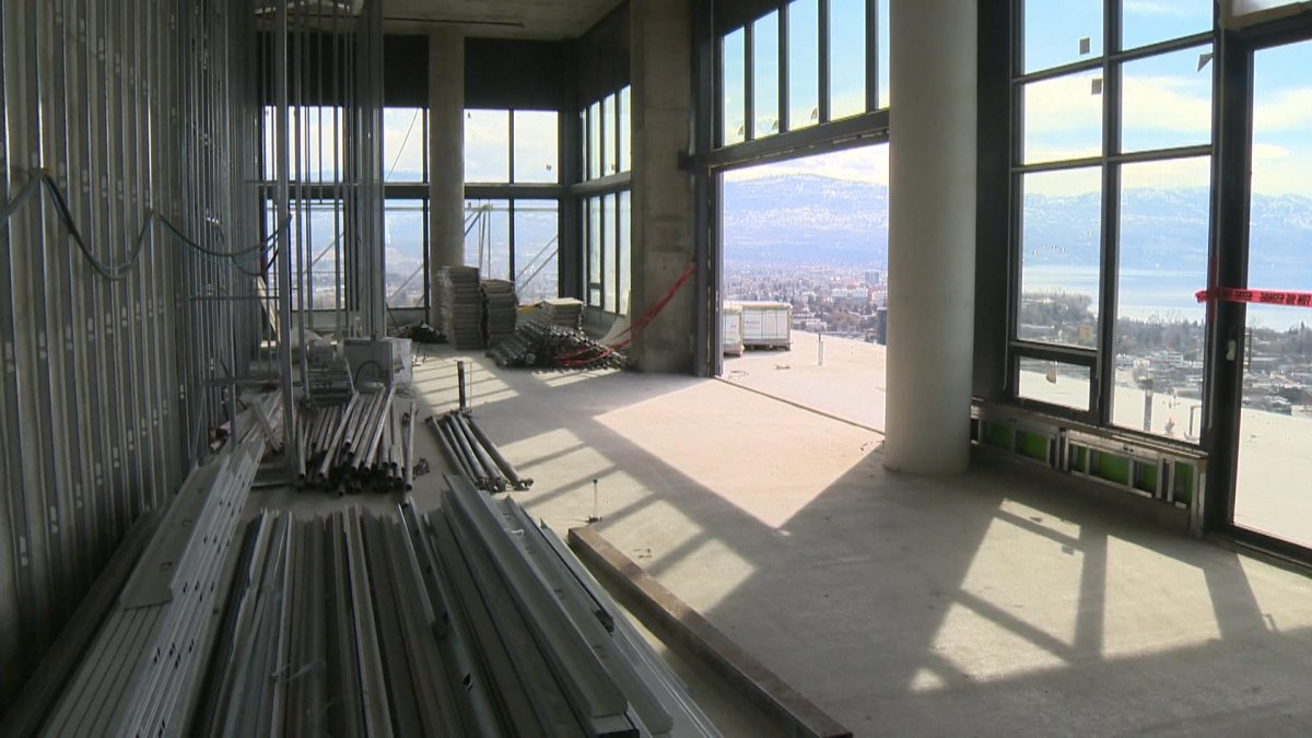 The penthouse suite on the top floor of One Water Street is priced at $10 million, which makes it the most expensive condo in the Okanagan.