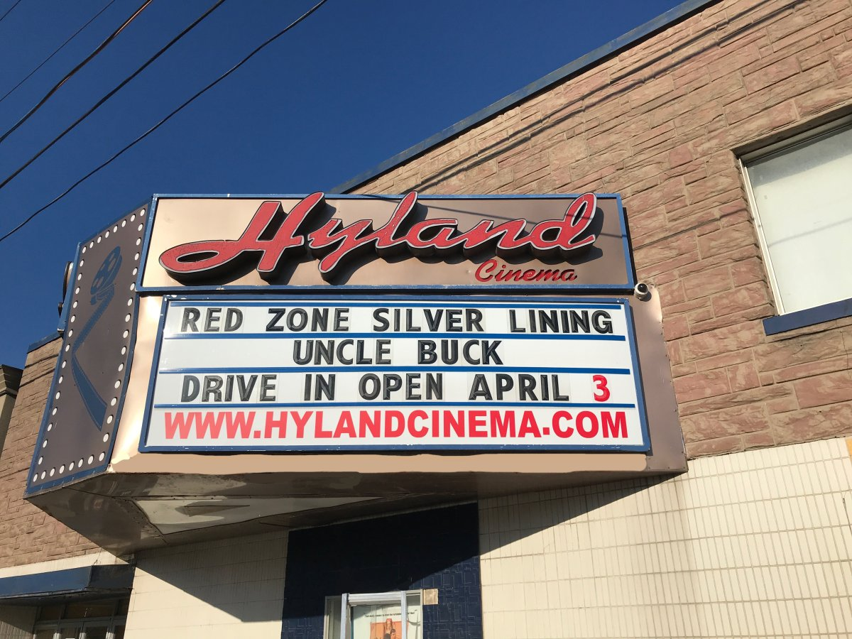 Hyland Cinema in London, Ont., has switched to a drive-in model during the pandemic.