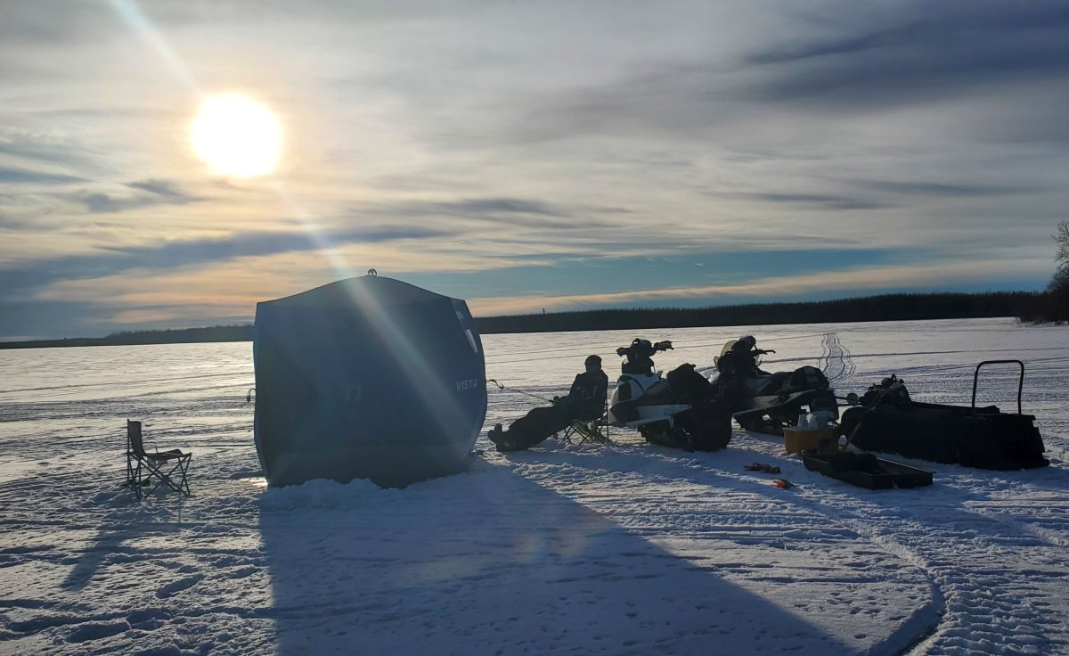 Saskatchewan Wildlife Federation says there was a positive number of angling licences sold as the ice fishing season winds down.
