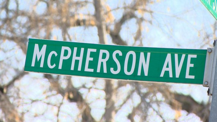 A historical researcher is calling for the city to rename McPherson street.