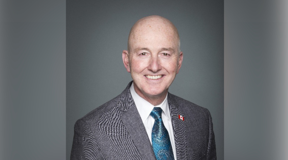 Flamborough-Glanbrook Conservative MP David Sweet is seen in this photo.