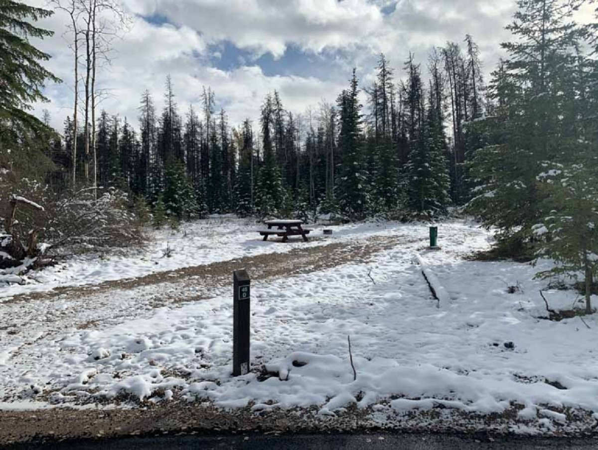 Whistlers Campground in Jasper National Park will have improved campsites and roads when it reopens to campers in the summer of 2021.