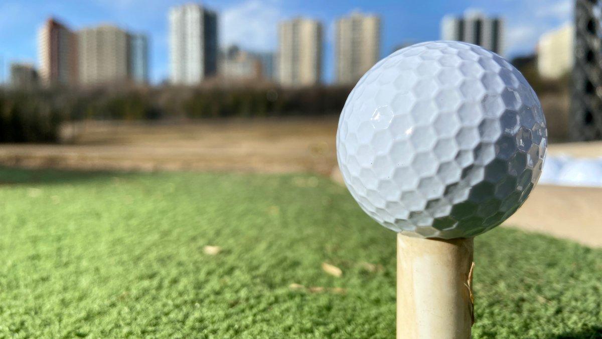 Victoria Park golf course in Edmonton River Valley on Thursday, April 1, 2021.