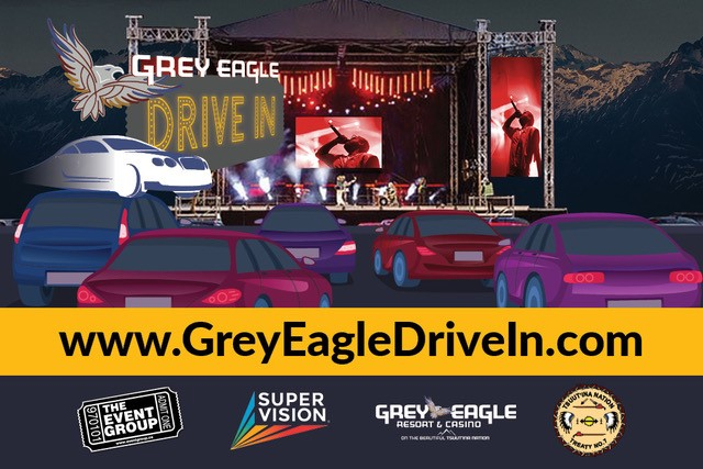 The Grey Eagle Drive In, supported by Global Calgary and 770 CHQR - image