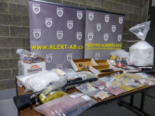 A recent drug bust in Calgary took upwards of 20,000 doses of fentanyl off the street, ALERT said.
