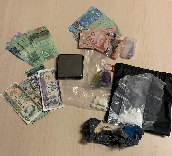 Kingston police's drug enforcement unit seized various substances, including blue and purple fentanyl, from a MacDonnell home this week.