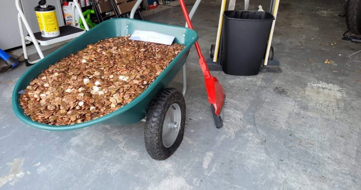 Coin company helps Georgia man who was paid last paycheque in pennies  image