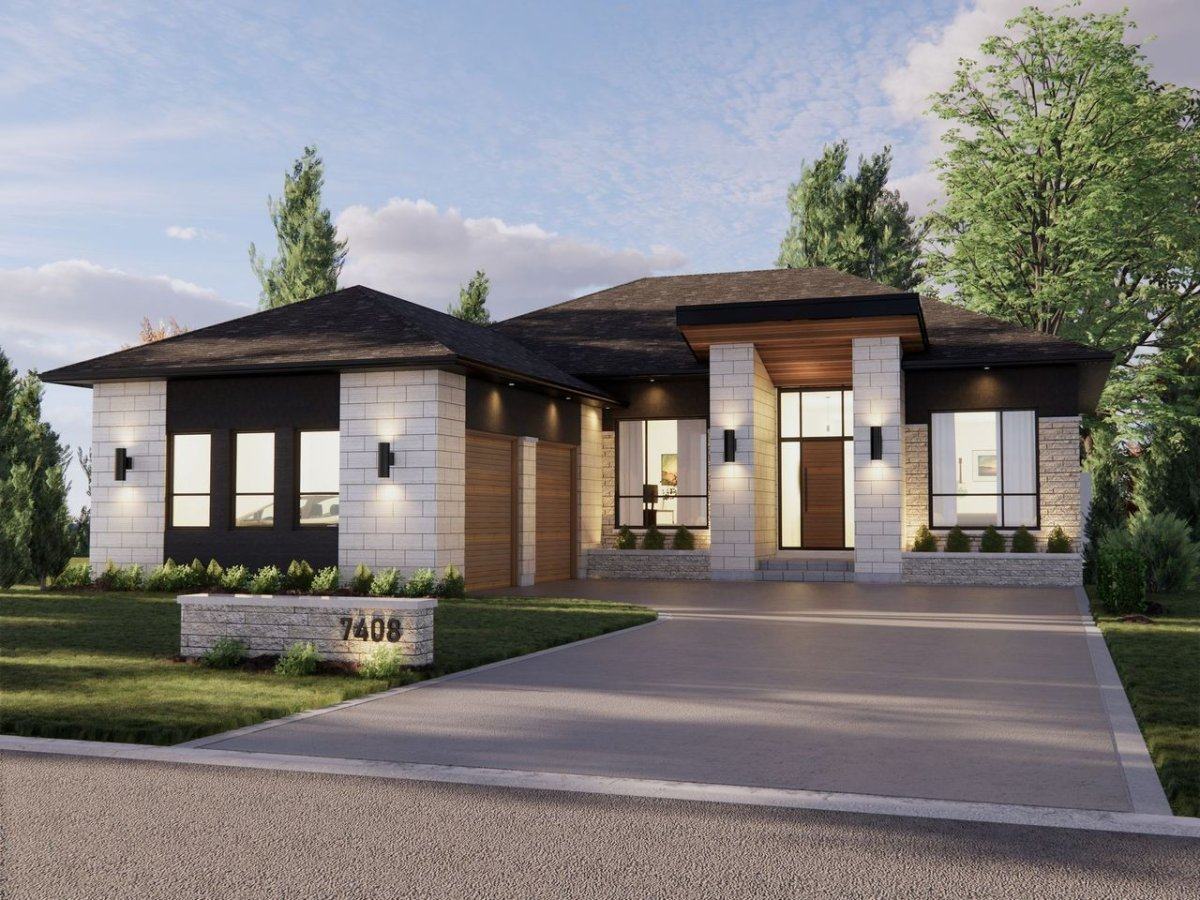 4,235 sq. ft, London Dream Home by Millstone Homes at 7408 Silver Creek Crescent, London.