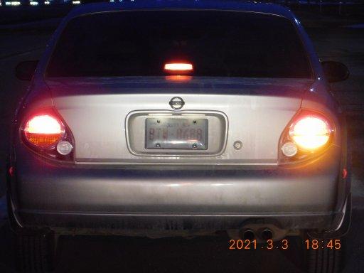 An Alberta driver is facing numerous fines and a court date after being pulled over with a paper license plate.